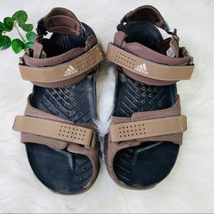 Adidas | Brown Velcro Outdoor Hiking Sandals